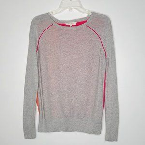 Two by Vince Camuto Mixed Media Colorblock Sweater